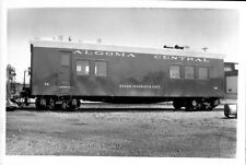 1974 Algoma Central Steam Genrator Unit Train #74 6x4 Photo X2200S FREE SHIP