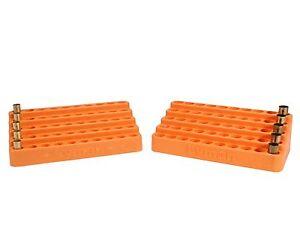 (4 PACK) Lyman Bleacher Block Stadium Style Loading Block for Handgun Cases