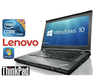 Lenovo ThinkPad T420s Laptop Core i5-2540M 8GB RAM 120 GB SSD Windows 10 pro