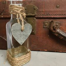 10 x Wedding Glass Jars,Vintage Style Vases,Centrepiece,Table Decoration,Numbers