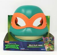 Teenage Mutant Turtles TMNT Michelangelo Mikey Face Mask Dress Up Costume Toy