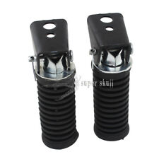 Motorcycle Foot Peg Pedal Foot Rests For Suzuki GN125 QJ GS125 GT125-5 Bike Pair