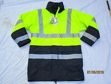 Jacket Aircoat Flex, Scotchlite,blau/gelbe Warnjacke, Gr. SMALL