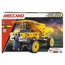 Erector by Meccano Dump Truck Model Vehicle Building Kit, STEM Education Toy