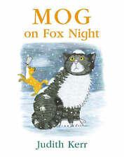"""AS NEW"" Kerr, Judith, Mog on Fox Night, Book"