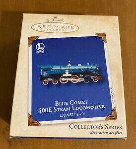 Hallmark Blue Comet 400E Steam Locomotive (Damaged- See Description)