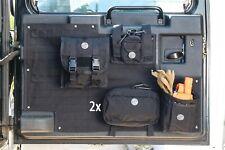 Tailgate Organizer Storage Bag Saddlebag for Land Rover Defender 90 110