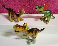 Gosnell Tuojiangosaurus Rioarribasaurus T-Rex Dinosaur Figure Lot of 3