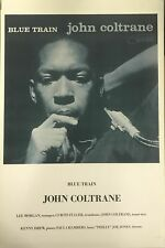Blue Train John Coltrane Vintage Reproduction UK Import Poster 24 X 34