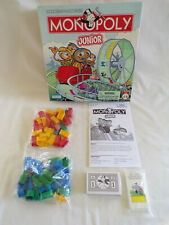 NIB - 2005 Monopoly Junior Board Game - 100% Complete by Parker Brothers - Nice!