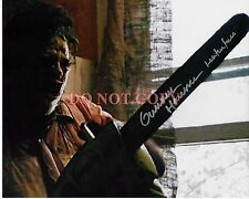 Gunnar Hansen Leatherface Texas Chainsaw Massacre 8x10 Signed Photo Reprint