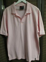 SOUTHPOLE Men's golf shirt, XL, Pink color, 100% cotton, pre-owned, very good