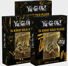 Yu-Gi-Oh! - Limited Edition 24K Gold Plated God Monster Cards