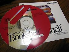Microsoft Bookshelf 1996-1997 Edition Multimedia Reference Library