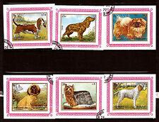 SHARJAH Cuadernos con sello no dentado: animales de compañía:perros race E30