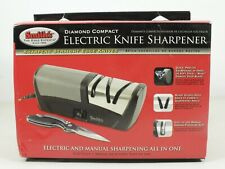 Smiths Diamond Compact Electric and manual Knife Sharpener 50132