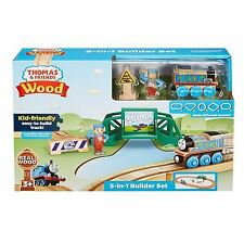 PISTA 5 IN 1 IN LEGNO TRENINO THOMAS WOOD FISHER PRICE FHM64 (E1201)