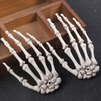Creepy Halloween Plastic Skeleton Hands Haunted House Prop Decoration 1Pcs