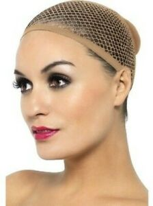 Natural Colour Wig Cap Stretch Mesh Blonde Light Hair Net Adults One Size
