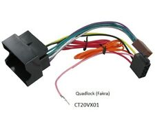 VAUXHALL VIVARO 2006-2012 QUADLOCK LEAD WITH OME HEAD UNIT CDC40 FITED STEREO