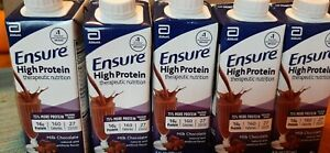 Ensure High Protein Nutritional Shake, 16G Protein, Milk Chocola 24Pcs in a Box