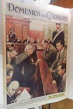 LA DOMENICA DEL CORRIERE 19 febbraio 1961 Processo Fenaroli Ghiani Terruzzi di e