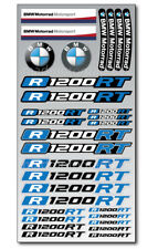 R1200RT Motorrad Aufkleber blatt Laminiert stickers bmw R1200 RT Motorsport Blau