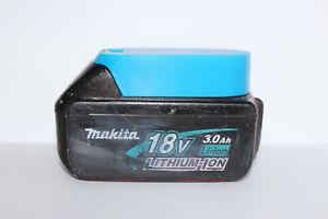 Blue battery holder / cover for Makita BL1820 BL1830 BL1840 BL1850 18v