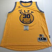 Stephen Curry Signed Jersey BAS Beckett Golden State Warriors Autographed