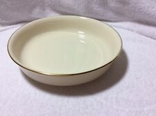 Lenox Eternal Set Of 4 Coupe Soup Bowls  Cream Color With Gold Trim