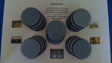 Set 20 x 50mm Teflon Glides Slides Sliders heavy FURNITURE slippy pads Glides