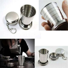 Outdoor Stainless Steel Portable Travel Folding Collapsible Telescopic Cup
