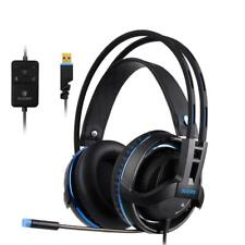 SADES Diablo Realtek Gaming Audio Headset USB Connection Windows 7 8 & 10 PC