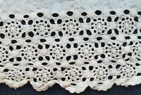 """Antique Lace Edwardian Whitework Embroidery A25  1 Yard 26"""""""