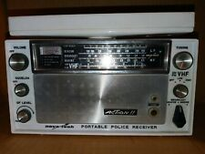Vintage Nova-Tech Portable Police Receiver Radio Tested Working Made in Usa