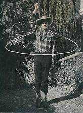 """COWBOY - USA c. 1940-50 - Jeu de Lasso """"Caroline"""" Amérique du Nord - DIV7629"""