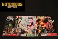 Uncanny Avengers 1-5 Complete Comic Lot Run Set Marvel Collection Remender