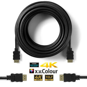 Premium HDMI Cable V2.0 High Speed 4K Ultra HD 2160p 1m 2m 3m 5m 10m