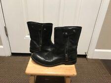 Woman's Frye Melissa Button Short Boots 8.5 B Black