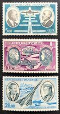 1970 France Pioneer Aviators Set of 3/4 CTO/MUH SG 1890, 91 93