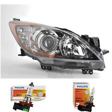 Halogen Headlight Right Mazda 3 BL Built 06/09- H11/HB3 with Indicator 1374107
