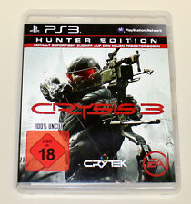CRYSIS 3 - HUNTER EDITION - 100% UNCUT - PS3 PLAYSTATION 3 SPIEL