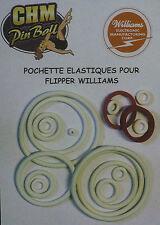 POCHETTE D'ELASTIQUES POUR FLIPPER WILLIAMS JOLLY ROGER