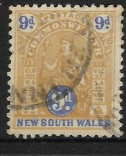NEW SOUTH WALES NSW 1903 9d COMMONWEALTH QUEEN Fine Used (No 1)