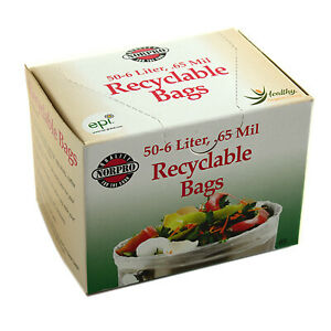 85 Recyclable Compost Bags, 50-Pk. - Quantity 1