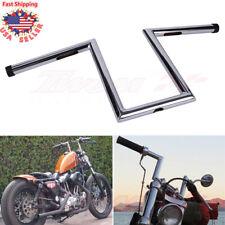 """Motocycle Custom Z-Bars Z Bars 1"""" Drag Ape Hanger Handlebars For Harley Chopper"""