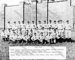 1929 CHICAGO CUBS NLCS CHAMPIONS WORLD SERIES 8X10 TEAM PHOTO