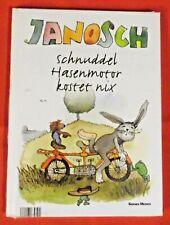 Janosch , Schnuddel Hasenmotor kostet nix , Serges Medien Verlag , HC , OVP