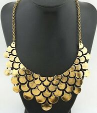 Bohemia Chic Vintage bronze Chain Choker Women Big Necklace&Pendants 2018 Maxi