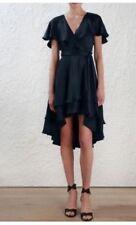 V-Neck Dry-clean Only Wrap Dresses